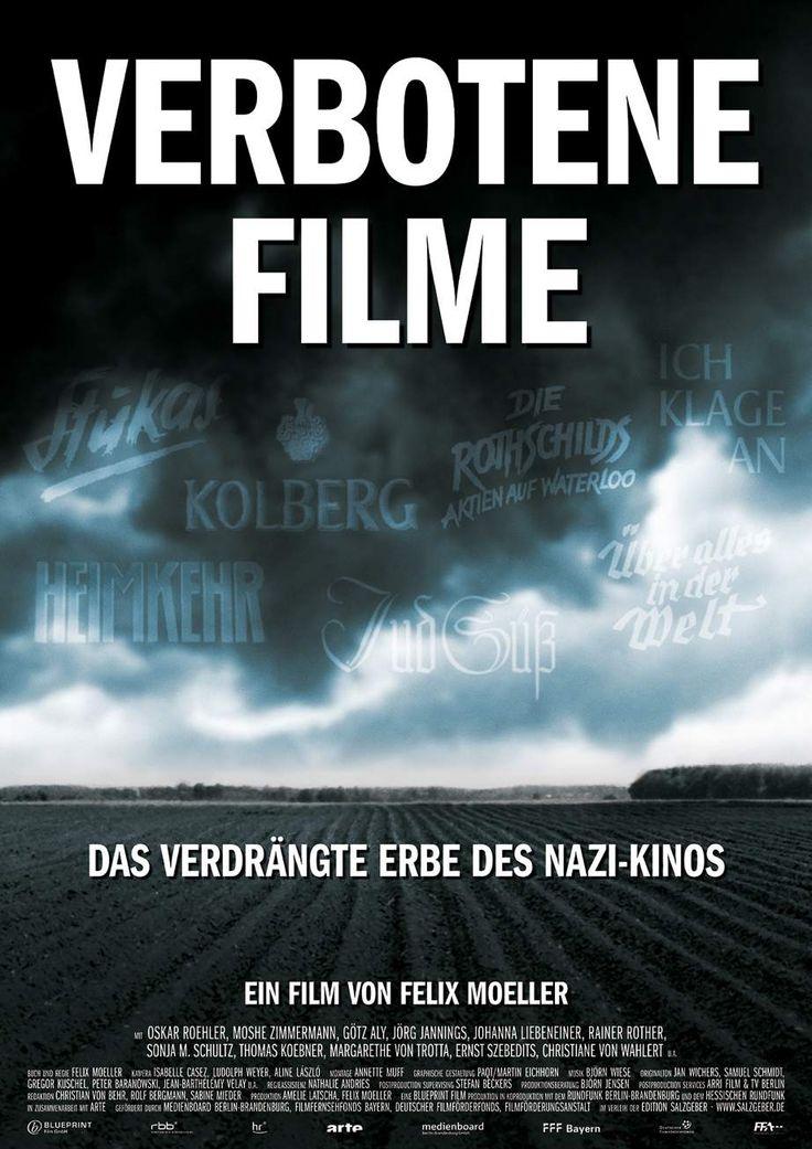 """VERBOTENE FILME, Dokumentarfilm von Felix Moeller, über die Filme aus dem Dritten Reich, die verboten sind und nur mit einer wissenschaftlichen Einführung gezeigt werden dürfen.(""""Unter Vorbehalt""""). Der Film geht der Frage nach, ob das Verbot der Filme noch zeitgemäß ist und lässt Befürworter und Gegner zu Wort kommen. Ich bin weiterhin unschlüssig, aber Moellers Film ist wirklich sehr, sehr gelungen."""