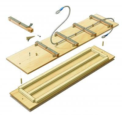 John Hartman - Planer Sled--Jointer-Free Method for Milling Lumber