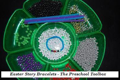 Easter Story Bracelet Craft for Kids! | The Preschool Toolbox ...