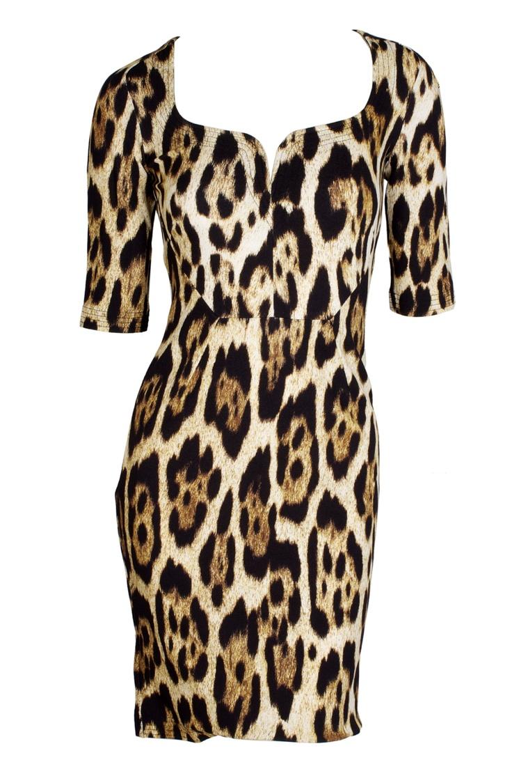 Leopard Dress by Just Cavalli ! That's what we called fashion #Gbmoda #MarinaMall #JustCavalli
