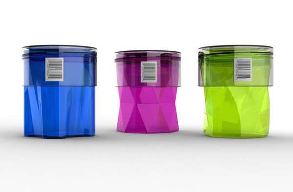 These Concept Cosmetic Containers are Rad-Looking and Reusable #makeup