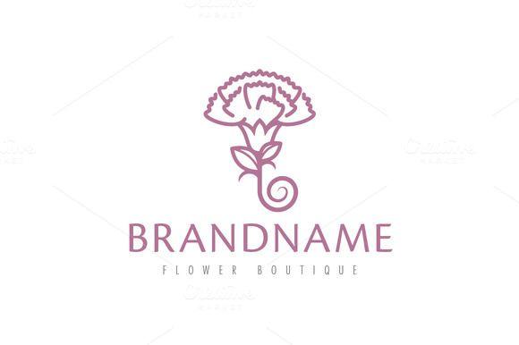 For sale. Only $29 - leaf, pink, purple, flower, petal, spiral, elegant, artistic, stem, blossom, umbrella, purity, carnation, bloom, garden, simple, love, floral, florist, natural, beauty, vintage, logo, design, template,