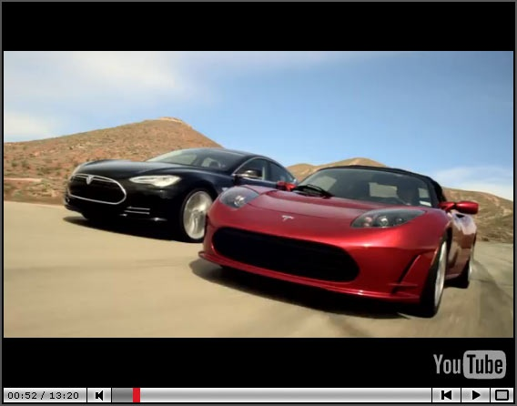 Click picture for video: Tesla's chief designer Franz von Holzhausen talks to Jay Leno about their latest offering, the Tesla Model S.
