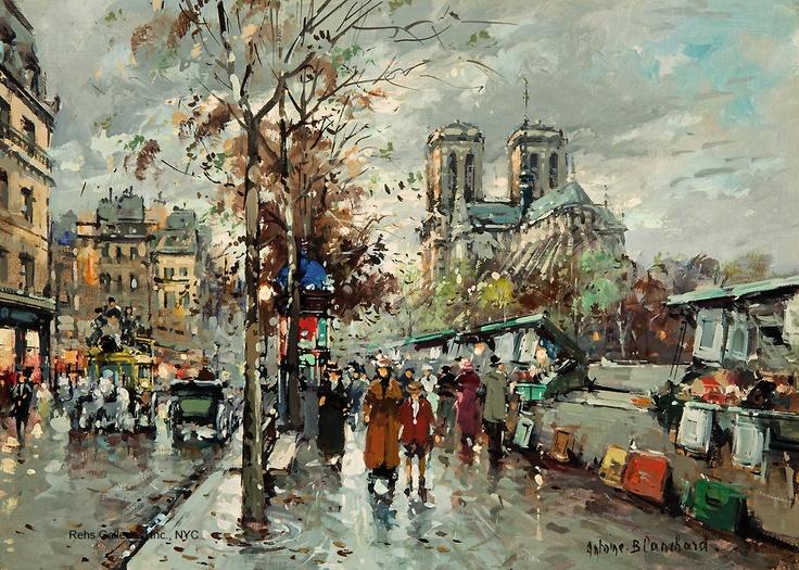 Notre Dame, Les Bouquinistes