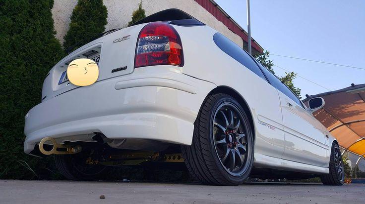 honda civic ek9 type r championship white