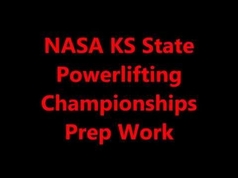 NASA KS STATE PL MEET PREP