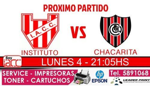 #instituto vs #chacarita TODA LA INFO PARA INGRESAR NOTA...  #instituto vs #chacarita TODA LA INFO PARA INGRESAR  NOTA COMPLETA AQUIhttp://ift.tt/1i39yrN  Volvemos a casa y a continuación van todos los datos para que puedas ingresar a ver al glorioso cordobés Día: Lunes 4 de abril Horario: 21hs Rival: Chacarita La sede está abierta desde las 9 de la mañana Tenés que tener la cuota de MARZO paga Menor $140 Cadete $170 Dama $250 Caballero $250 Grupo Familiar $400 Para ir a Popular o…