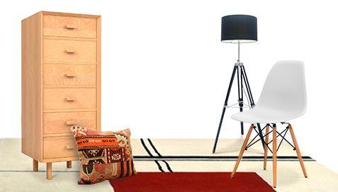 331,90€ Chiffonnier Style Scandinave Céline - Bois pas cher