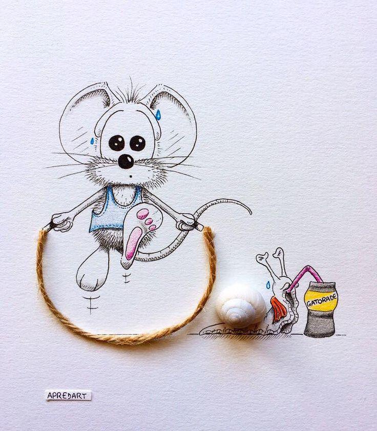 Картинки мышата прикольные, детишками