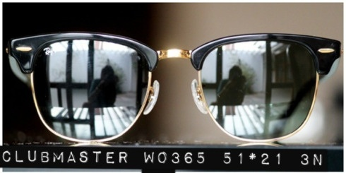 Clubmaster by Rayban