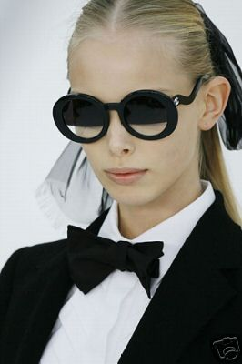 Chanel. I'm weird and have wanted these sunglasses for a while.