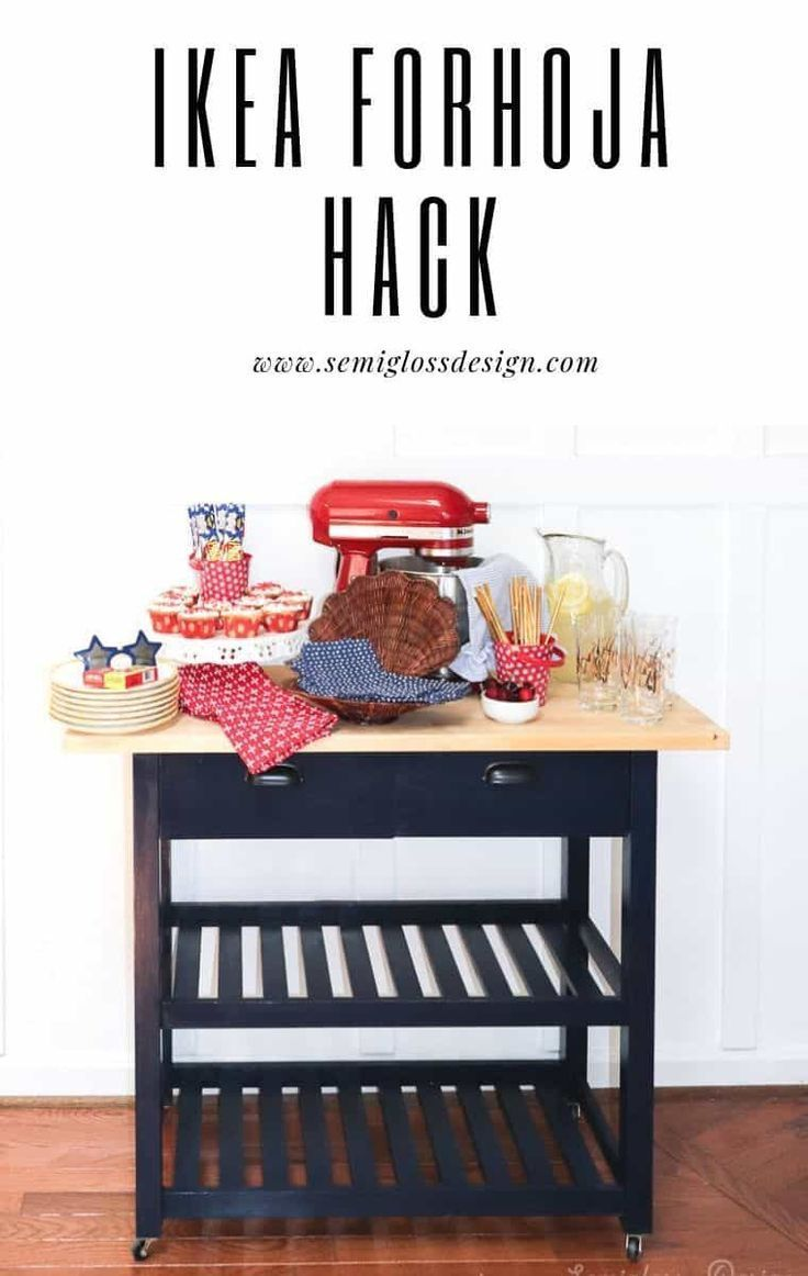 carro de cocina de ikea hack