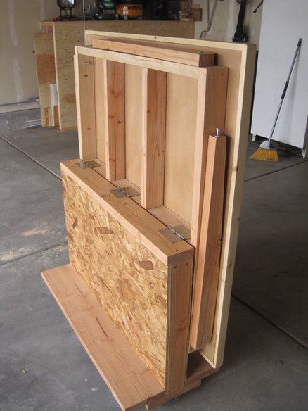 Foldout Workbench - by Tradeturnhobby @ LumberJocks.com ~ woodworking community