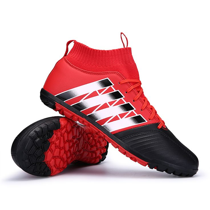 2017 High Ankle Kids Football Boots Superfly Original Cheap Indoor Soccer Shoes Cleats Boys Girls Sneakers High Quality  #Affiliate
