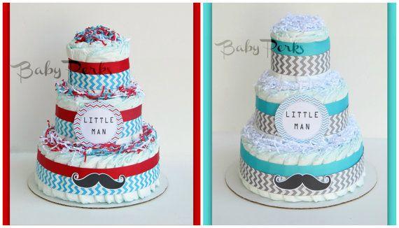 Birthday Mustache Cake
