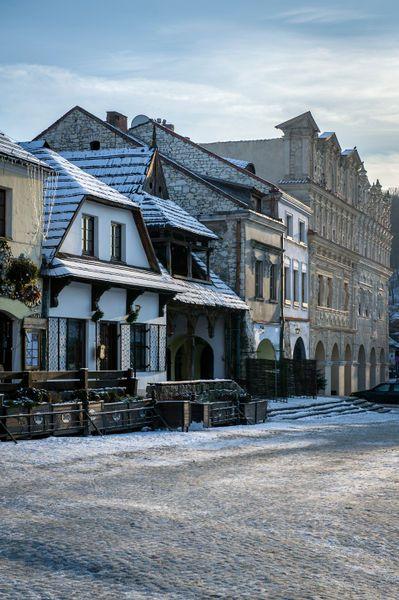Renaissance architecture in Kazimierz Dolny, Poland  by Jacek  Kadaj