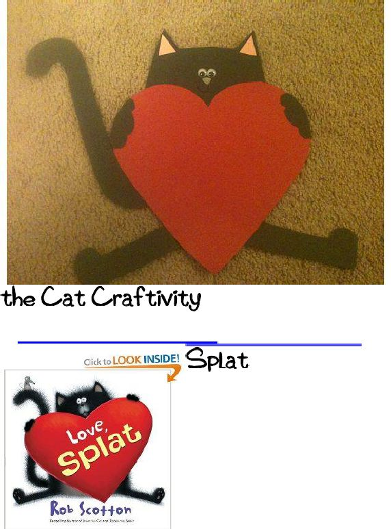 13 best splat the cat images on pinterest kitty cats book splat the cat craftivity goes with the book and comes complete with a template maxwellsz