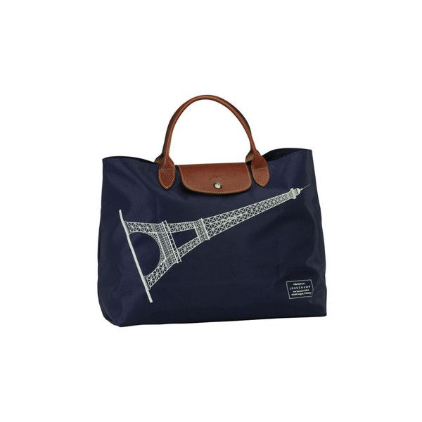 Sac Longchamp ($62) ❤ liked on Polyvore featuring bags, handbags, borse, сумки, bolsas, longchamp bag, handbags & purses, longchamp, blue hand bag and hand-bag