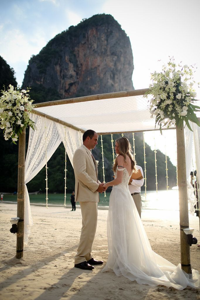 Take a Trip to Thailand With This Buddhist Beach Wedding: Oh, man, get ready for a bad case of wanderlust.