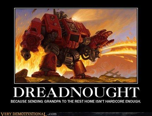 40k, memes, dreadnought