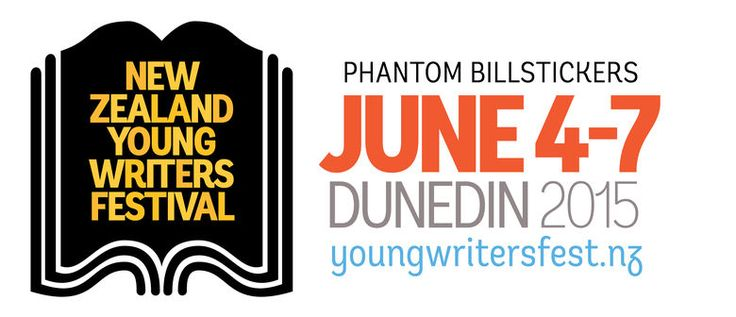 Programme for the New Zealand Young Writers Festival. June 4-7, Dunedin 2015.