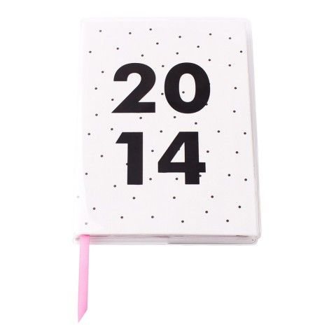 2014 A6 WEEKLY DIARY: B&W - 2014 Weekly Diary  - 2014 Diaries - Diaries & Calendars