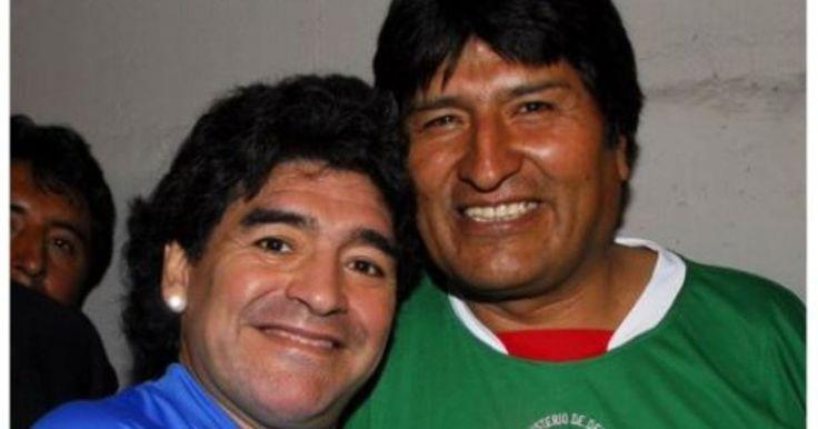 #Evo agradece a Maradona por lo que dijo de Bolivia - EL DEBER: EL DEBER Evo agradece a Maradona por lo que dijo de Bolivia EL DEBER El…