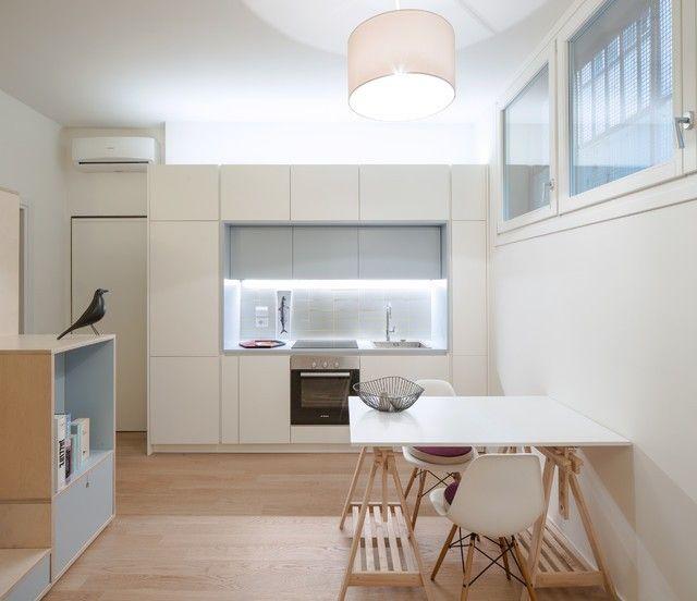 Cucina seminterrato | Seminterrato, Arredamento, Monolocale