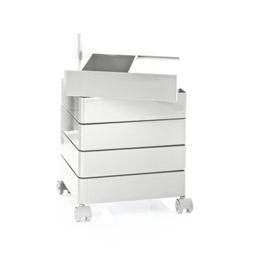 360° Container White now featured on Fab.  my new makeup storage unit of my dreams