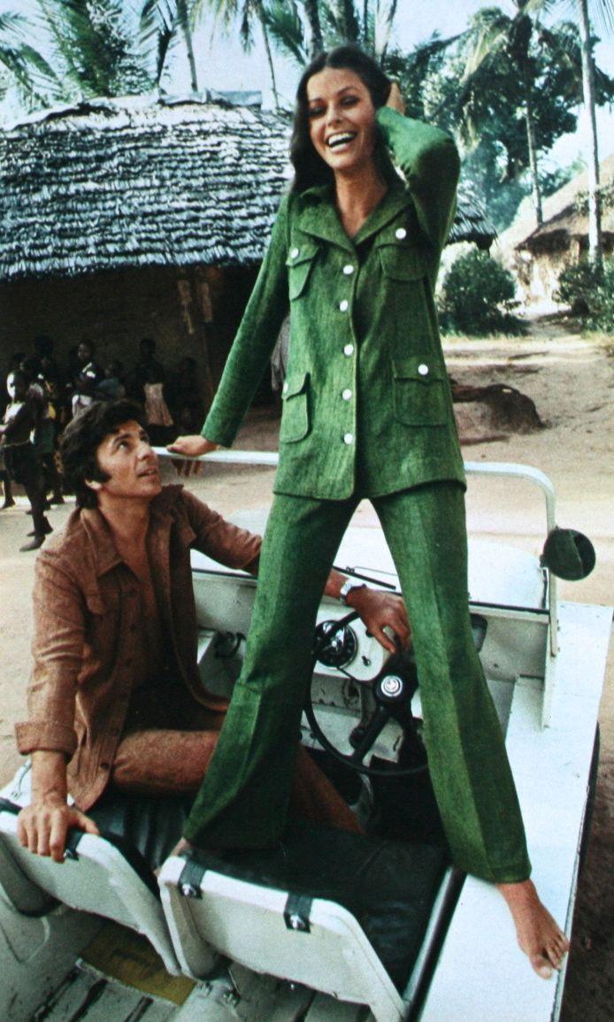 Safari-inspired fashion, Für Sie April 1970