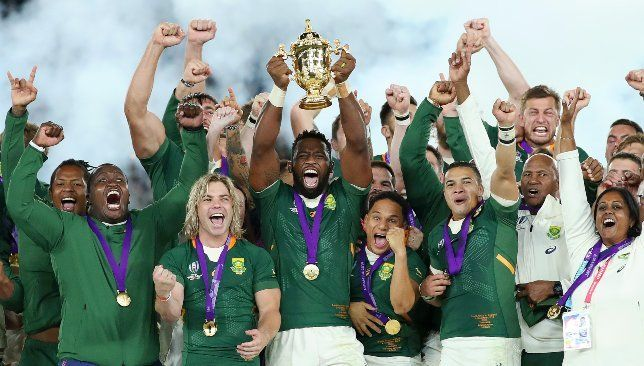 Rassie Erasmus Titanic Gameplan Inspires Springboks To Rugby World Cup Glory Rugby World Cup World Cup Rugby