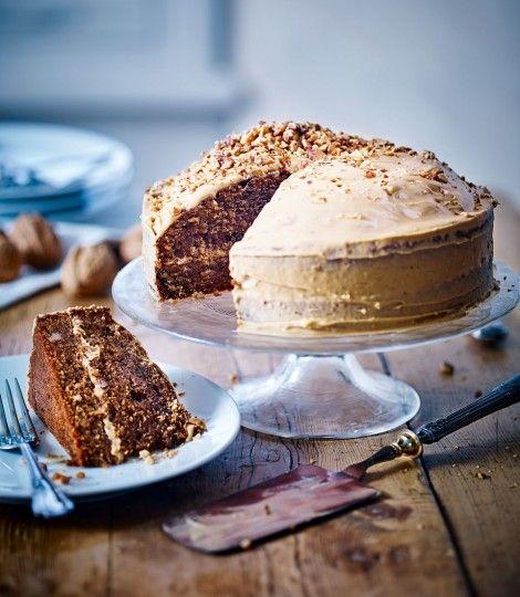 Coffee-&-walnut-cake