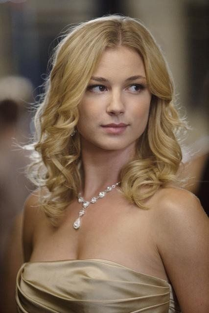 Emily VanCamp...aka Emily Thorne or Amanda Clark in Revenge...LOVE this show!