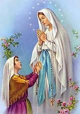 Holy Mary and Bernadette, Lourdes.