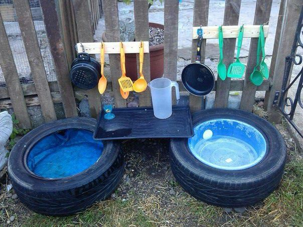 20 Kids Mud Kitchen Ideas for Your Garden Patio & Outdoor Furniture