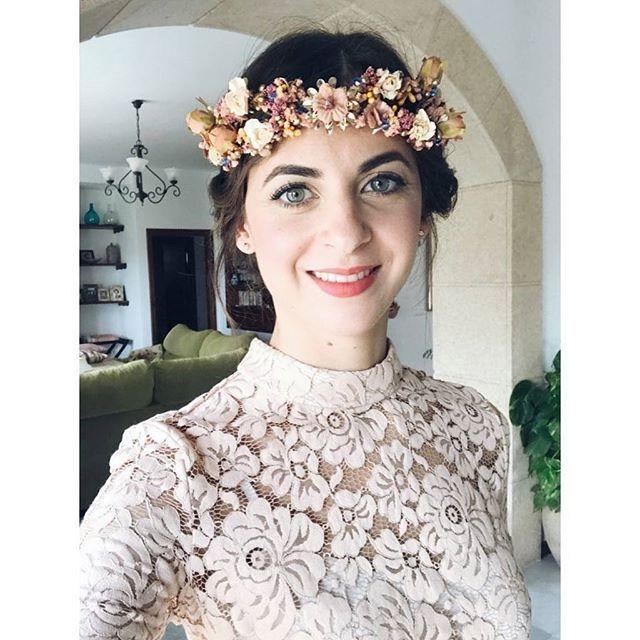 Tocados boda invitadas  Muchas gracias por confiar en #Toscana y por estas fotos bonitaaa 😘😘 #BeToscana💚  #ToscanaTocados