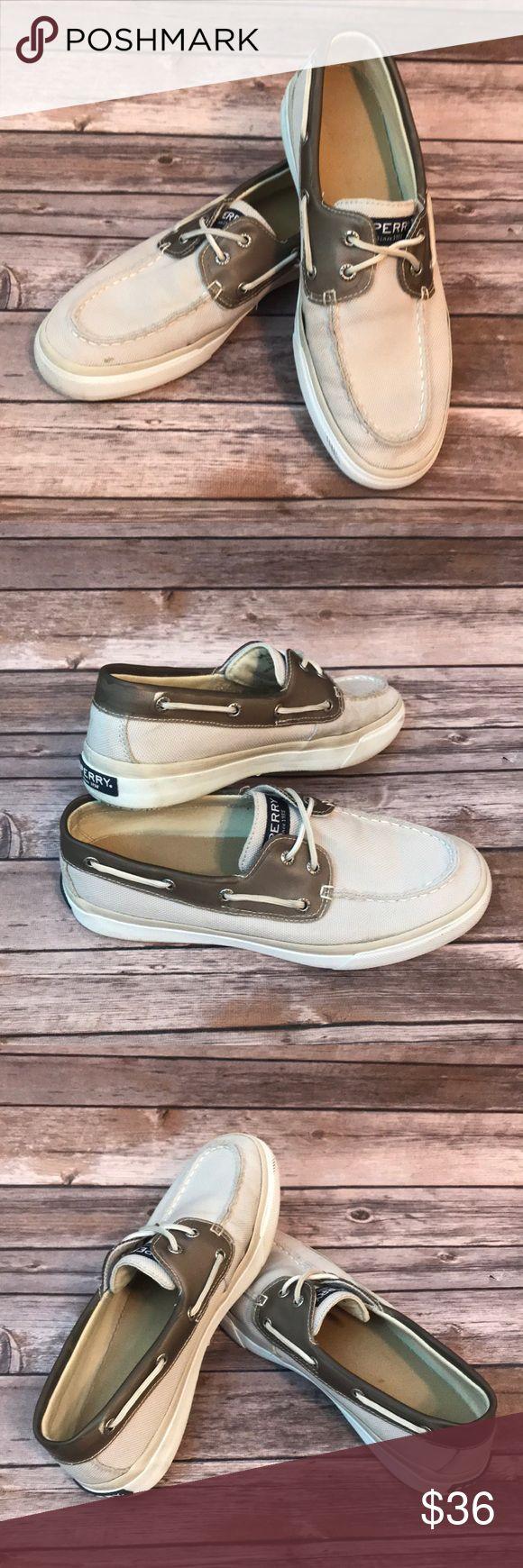 Sperry Men's Canvas Boat Shoes size 9.5 Sperry Men's Canvas Boat Shoes size 9.5 Sperry Shoes Boat Shoes