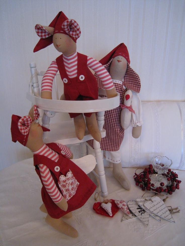 - 25 Ноября 2010 - Кукла Тильда. Всё о Тильде, выкройки, мастер-классы.