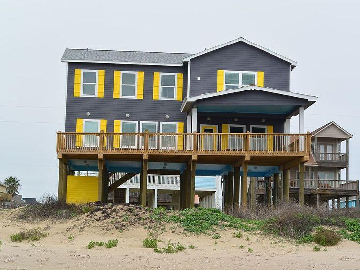 ideas about galveston beach house rentals on, Beach House/