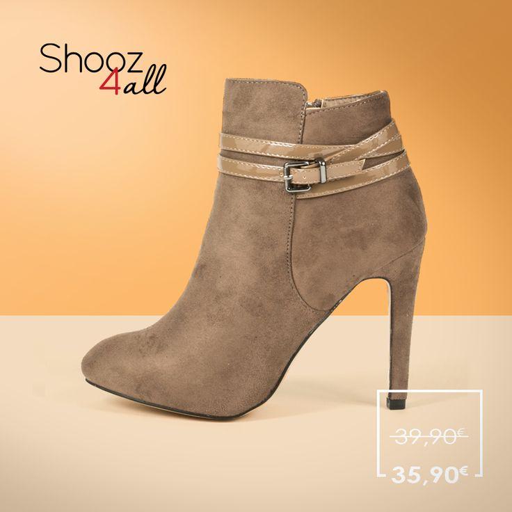 Μπεζ ψηλοτάκουνα μποτάκια! http://www.shooz4all.com/el/gynaikeia-papoutsia/mpez-psilotakouna-mpotakia-oh334-detail #shooz4all #mpotakia #psilotakouna