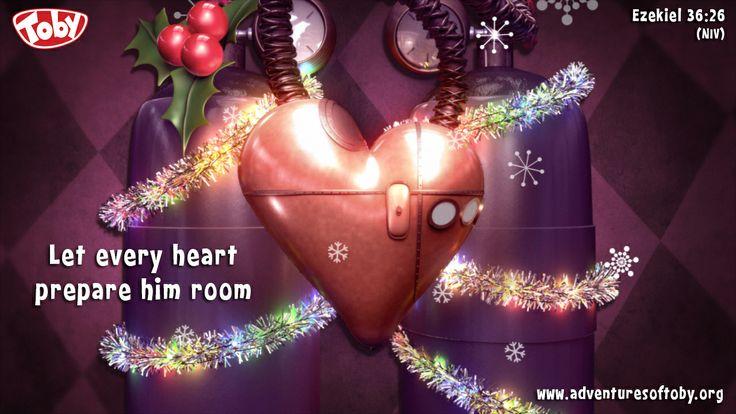 Let every heart prepare in room - Ezekiel 36:26