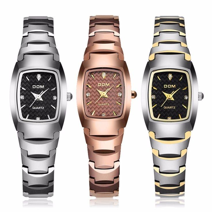 34.64$  Buy here - http://alinzk.shopchina.info/go.php?t=32802160318 - Dom Vrouwen Horloges Gesimuleerde-keramische Waterdicht Montre Luxe Mode Horloge Quartz Vrouwen Fashion Casual Gold Horloges  #buyonline