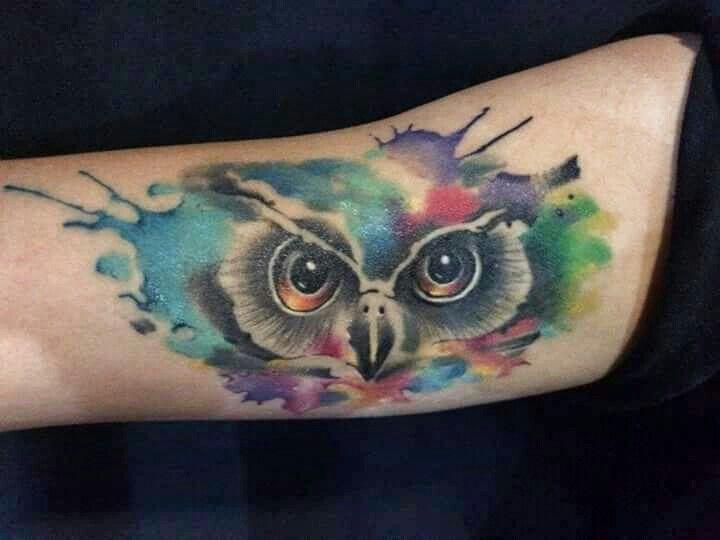 Watercolor tattoo / by greck   Visita: fanpage grecktattooartist.com Tatuador poblano #tatuadorpoblano #watercolorgreck