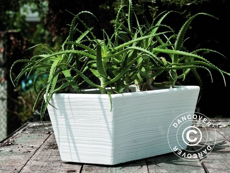 Beautiful and modern planters in anti-shock, lightweight, UV-resistant, weather resistant, recyclable material.  http://www.dancovershop.com/uk/products/planters.aspx