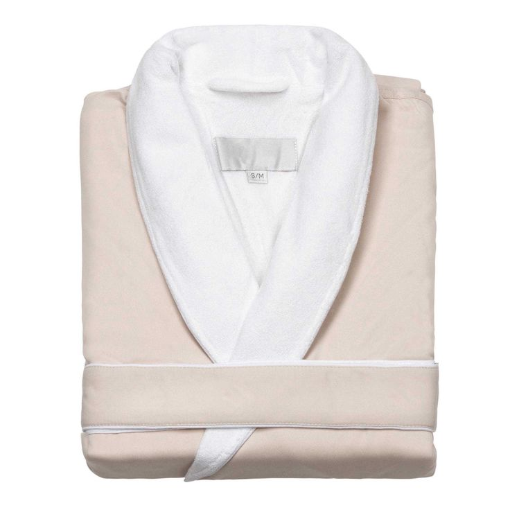 Deluxe Comfort Terry Lined Shawl Spa Robe