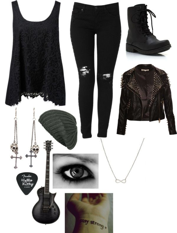 """""""Untitled #1538"""" by mizscreamofreak4eversuckers ❤ liked on Polyvore"""