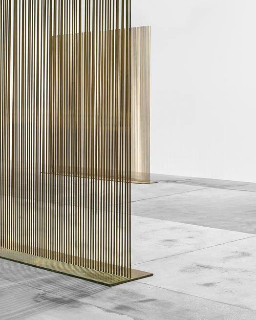 HARRY BERTOIA, Sonambient sounding sculpture, ca.1970s. Material beryllium copper and bronze | https://www.pinterest.com/AnkAdesign/collection-6/