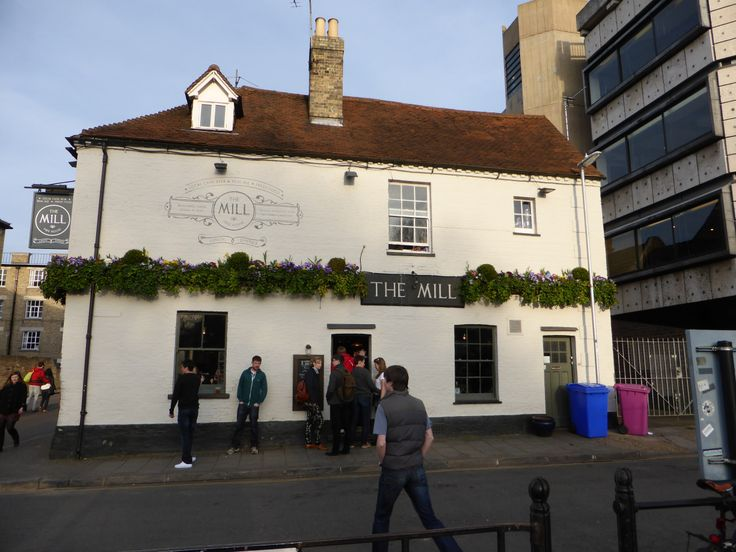 The Mill pub, for a good selection of beers and tasty food.