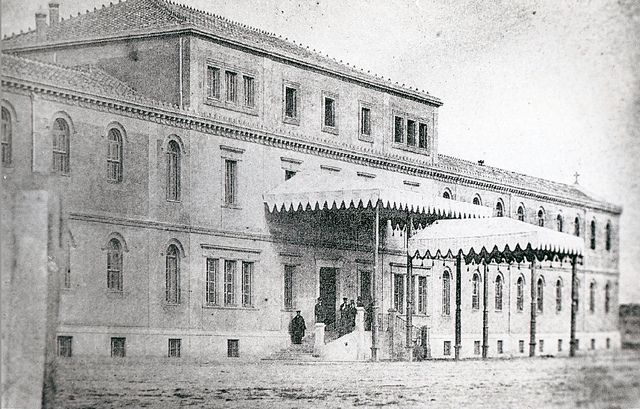 1857. El Hospital de la Princesa | Flickr: Intercambio de fotos