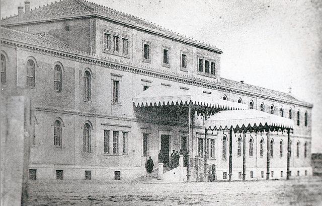 1857 Hospital de la Princesa, c/ Alberto Aguilera.